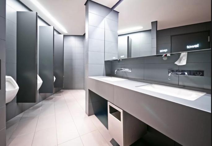 vách ngăn nhà vệ sinh compact