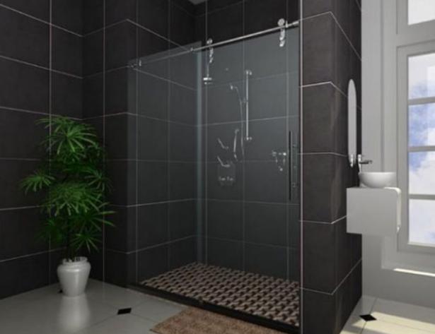 sản phẩm vách ngăn phòng tắm kính giá rẻ