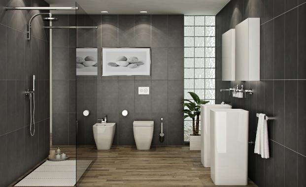 vách ngăn vệ sinh nhà tắm bằng kính đẹp